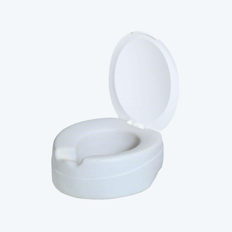 Rehausse WC contact avec abattant
