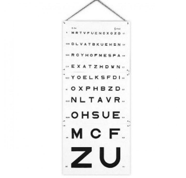 échelle optométrique Monoyer