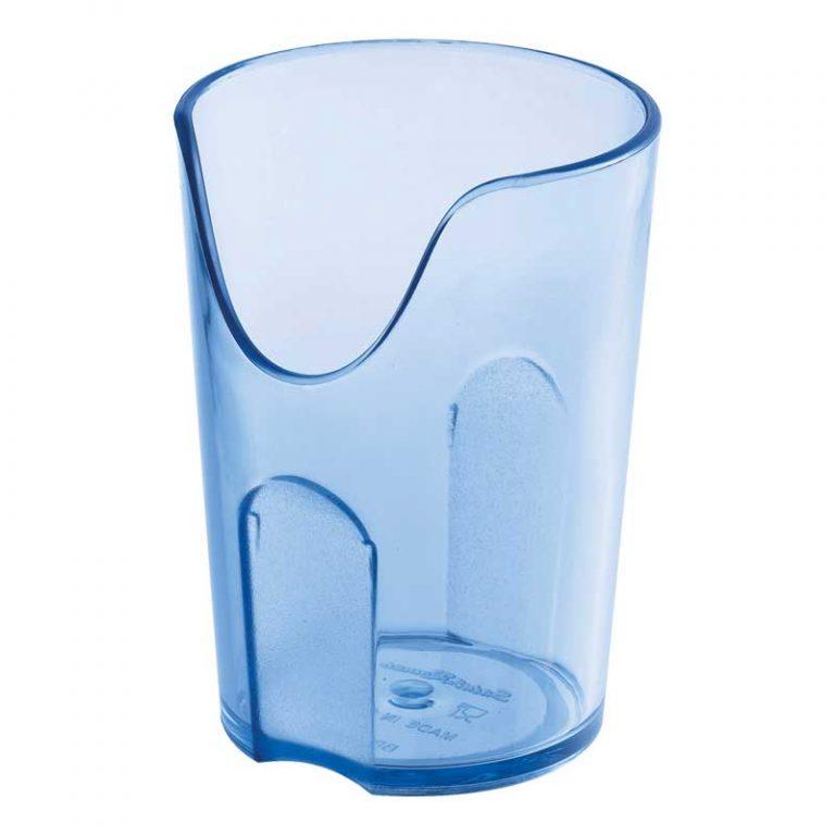 verre à découpe nasale