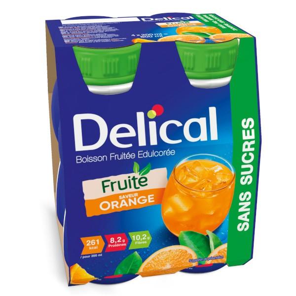 boisson fruitée sans sucres
