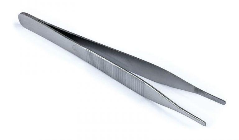 Pince Adson stérile métal