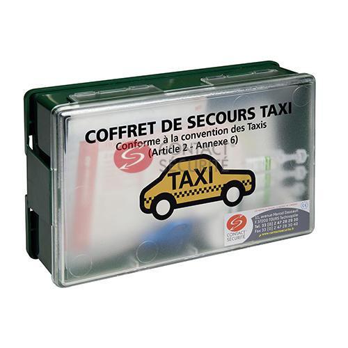 trousse de secours taxi